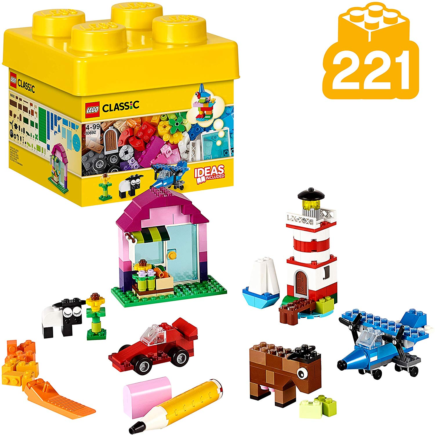 Classic Creative Bricks Learning Toy for Children ...