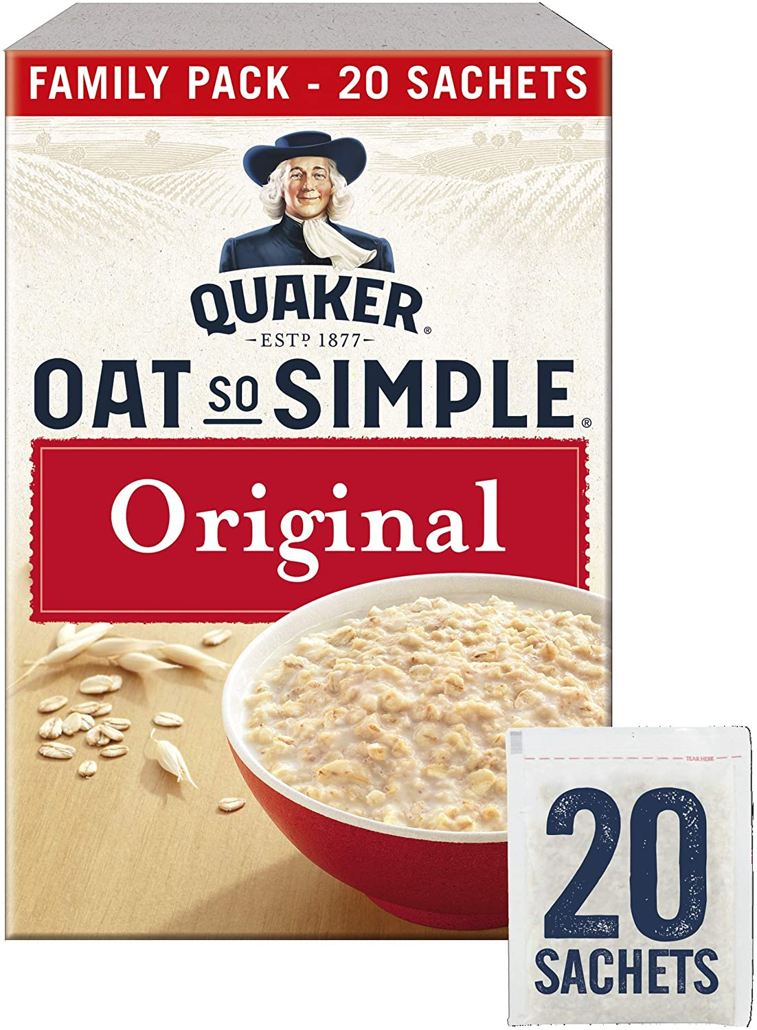 Quaker Oat So Simple Family Pack 20x27 g