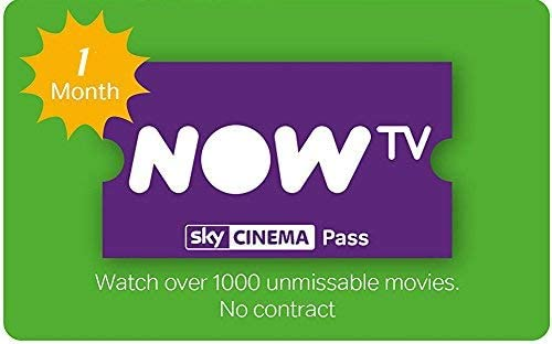 1 Months Sky Cinema Pass For Now Tv