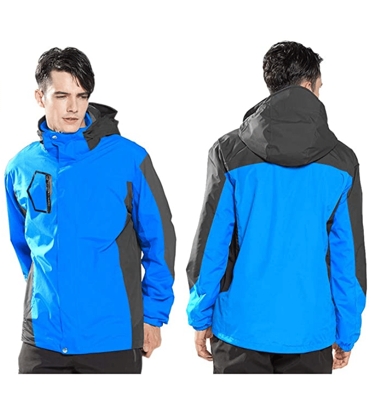 Men's Waterproof Rain mountain Jacket