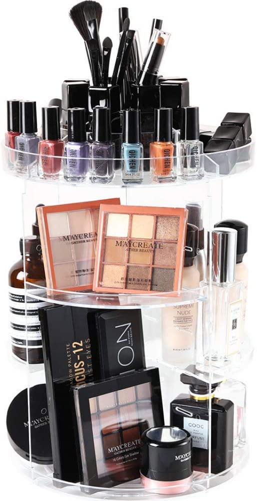 Makeup Organiser Rotating Cosmetic Holder