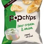 Popchips Sour Cream and Onion Popped Potato Chips 23 g