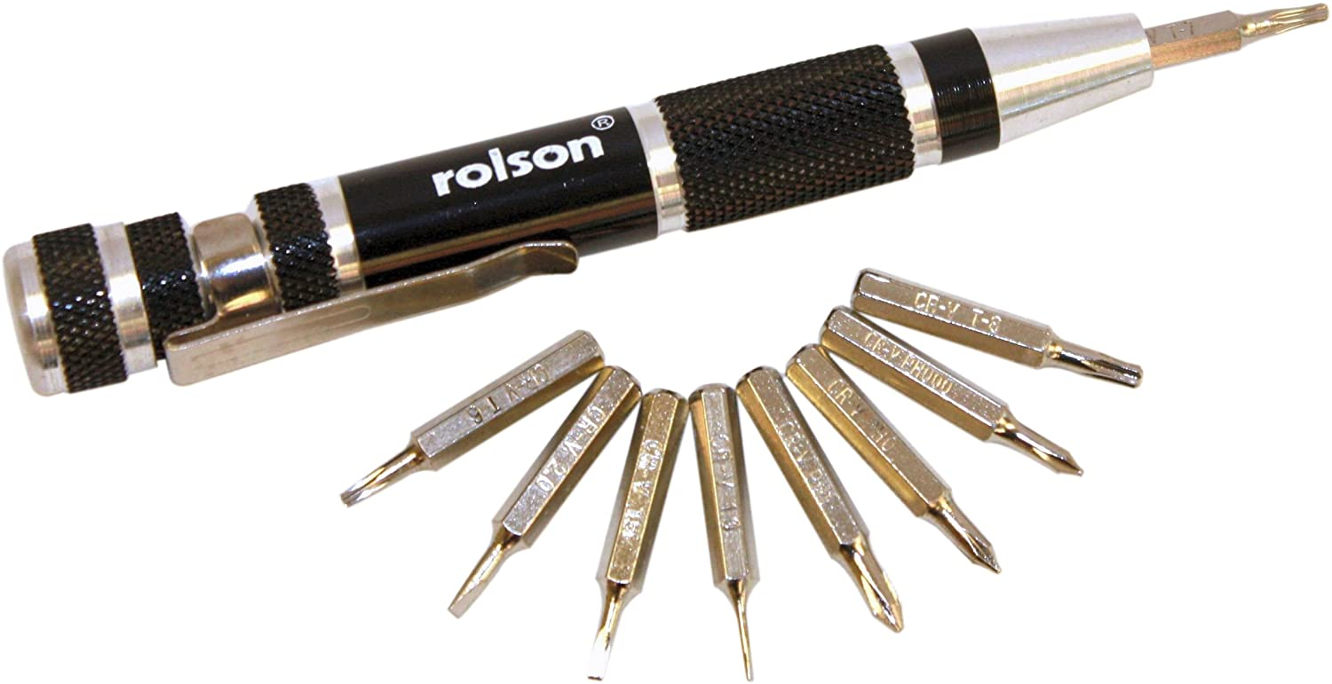 Rolson 28226 9-in-1 Precision Screwdriver