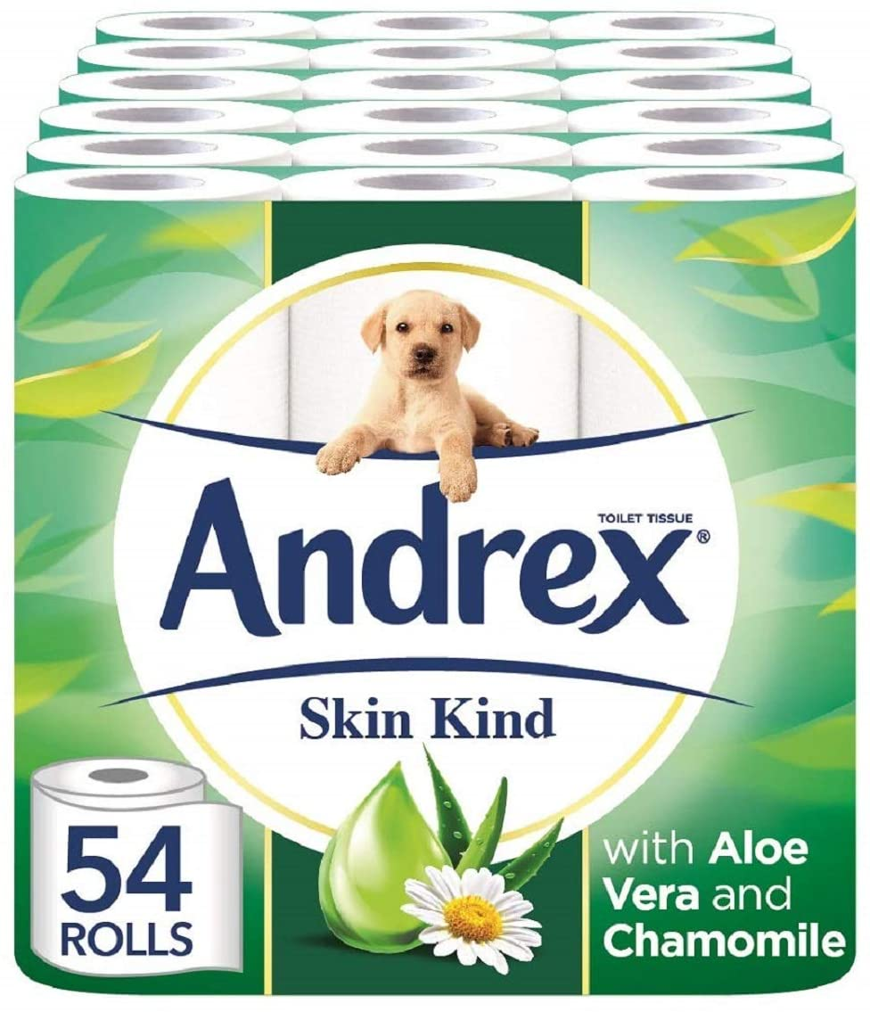 Andrex with Aloe Vera extract Toilet Rolls
