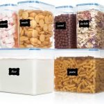 BPA Free Plastic Cereal Storage Containers