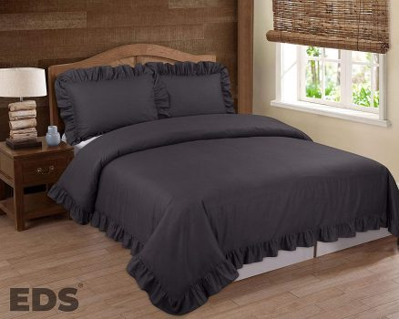 EDS Duvet Cover Bedding Set with Two Pillowcases