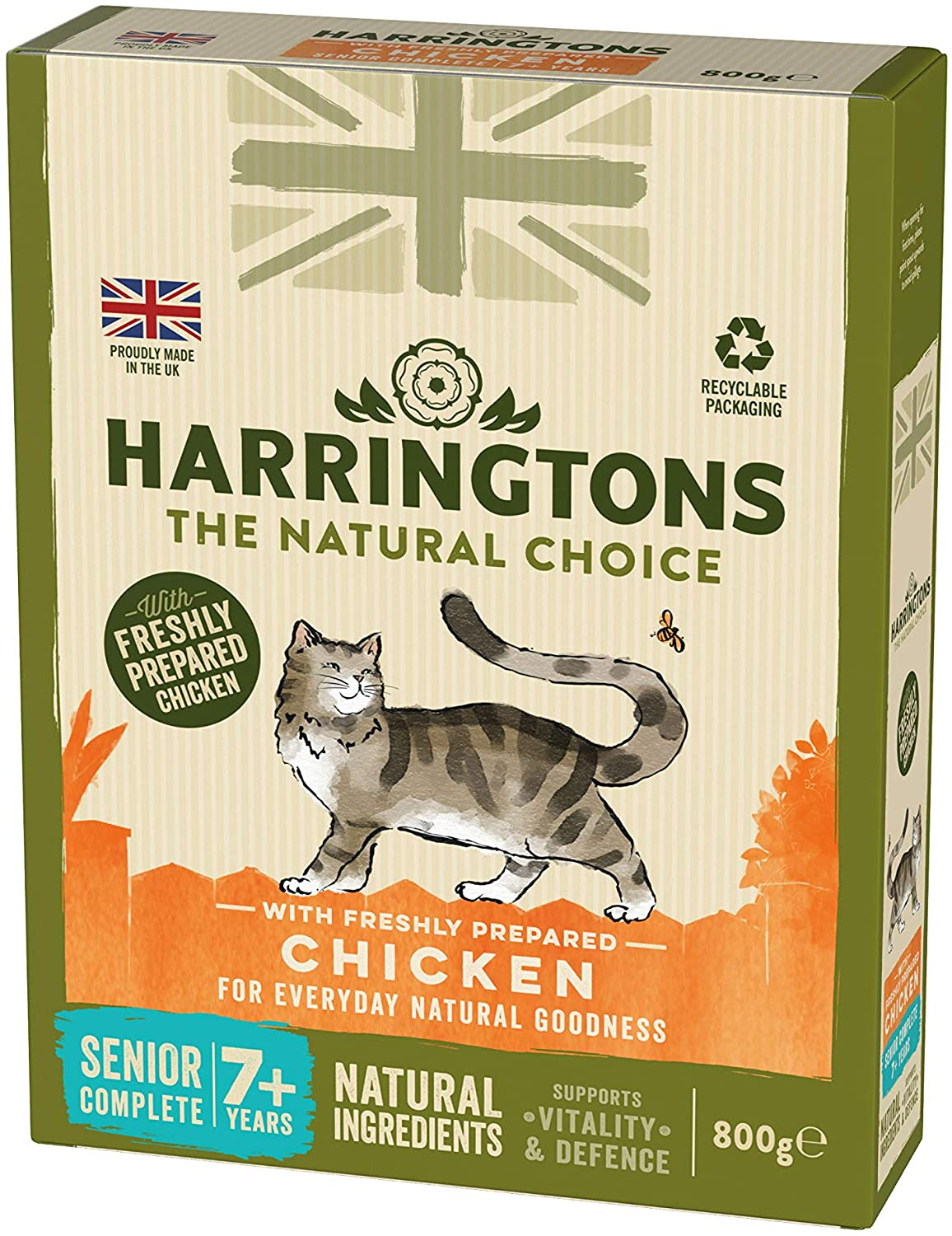 Harringtons Complete Senior Chicken Dry Cat food
