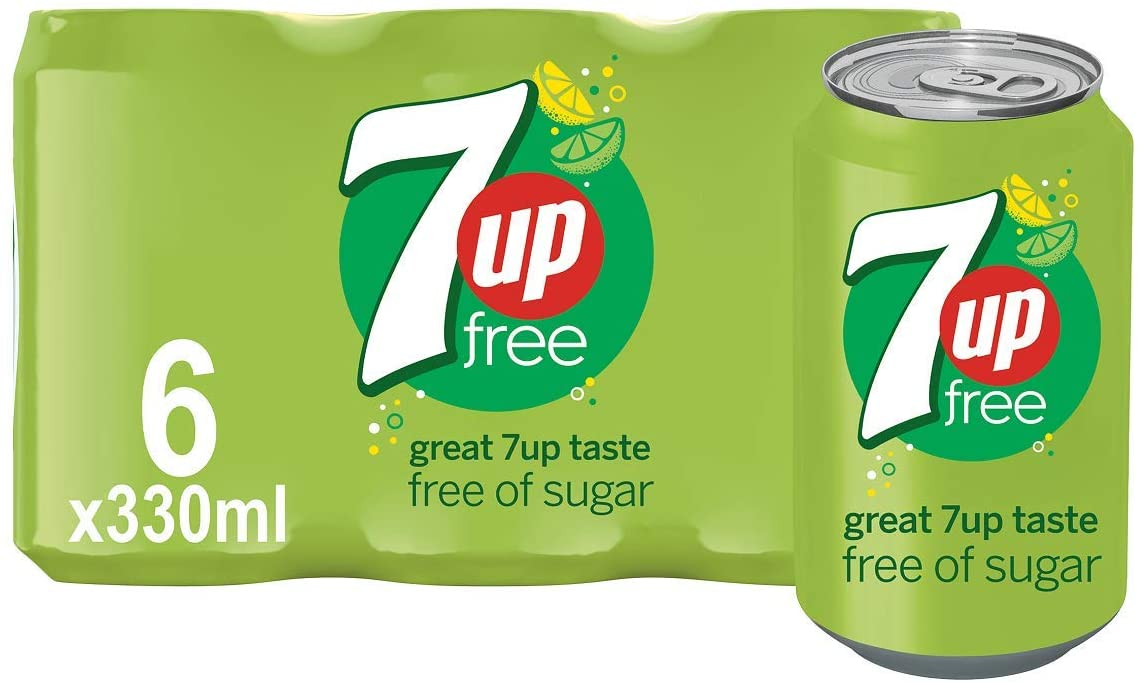 7UP Free Lemon & Lime Flavoured