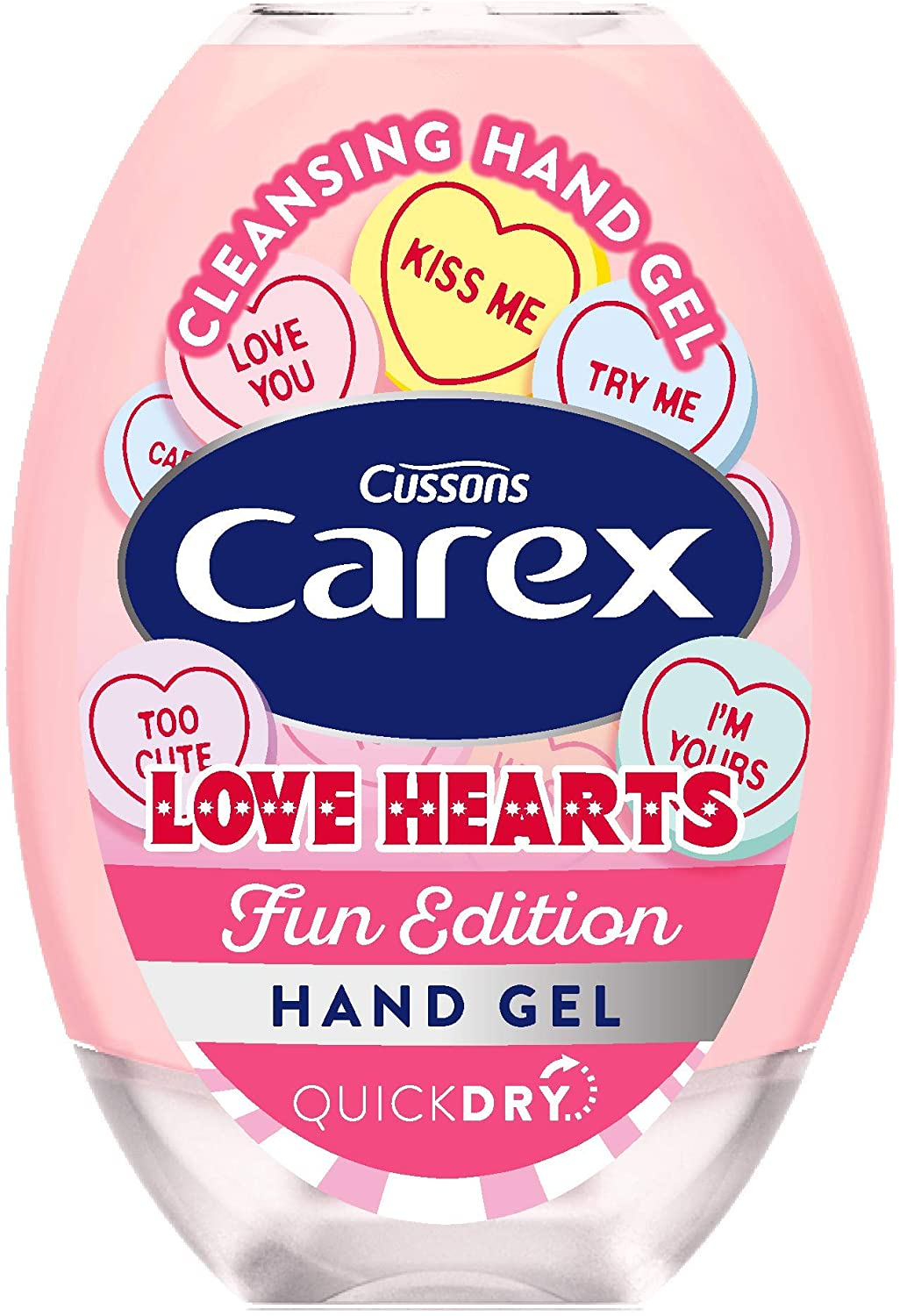 Carex cleansing hand gel