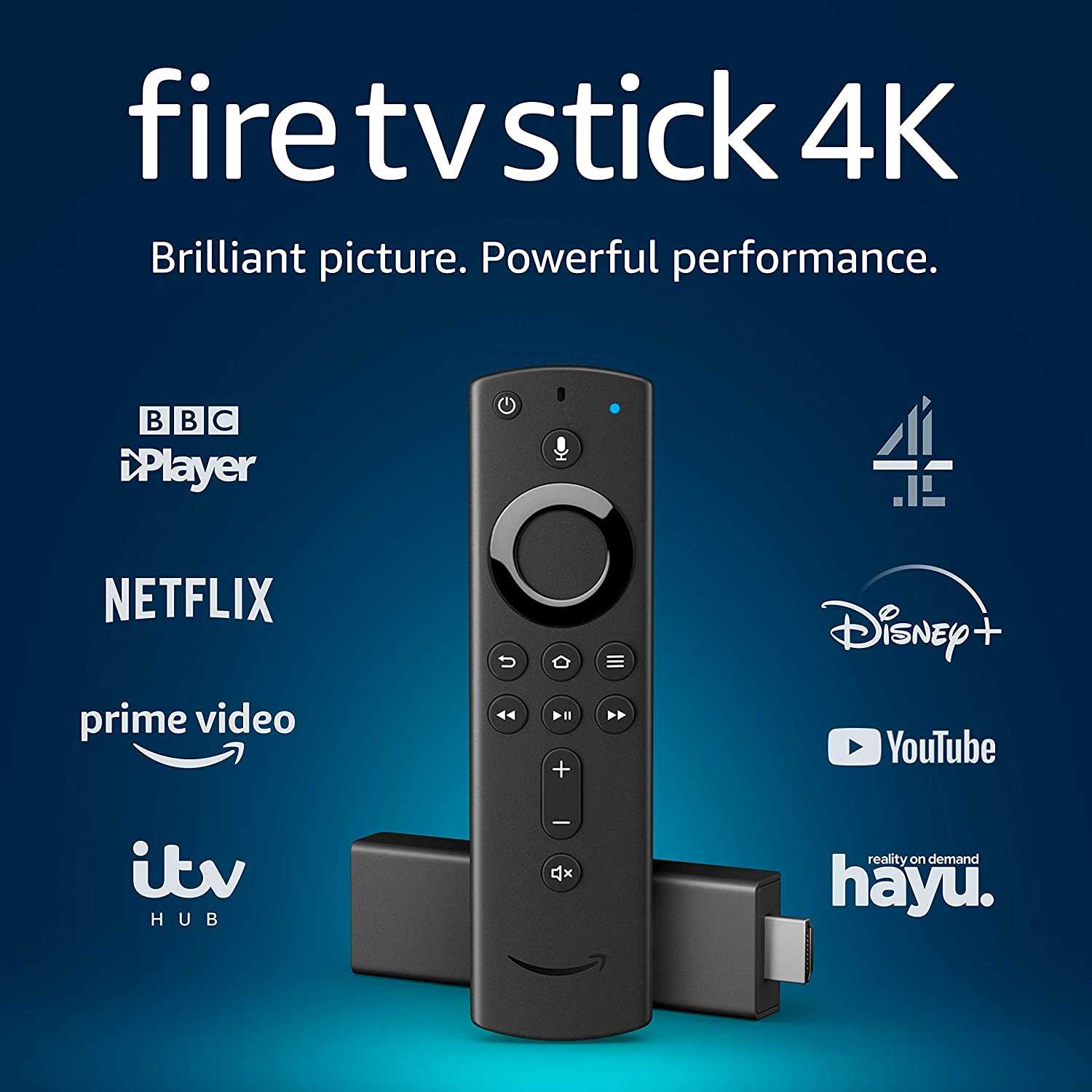 Fire TV Stick 4K Ultra HD