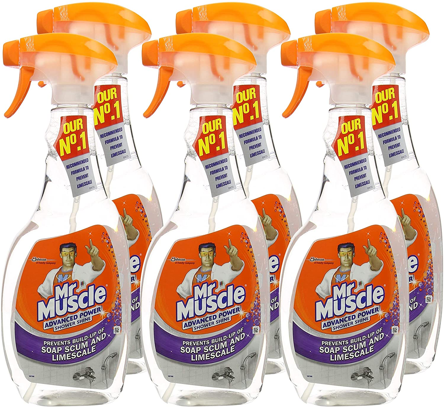Mr Muscle Advanced Power Shower Shine Spray