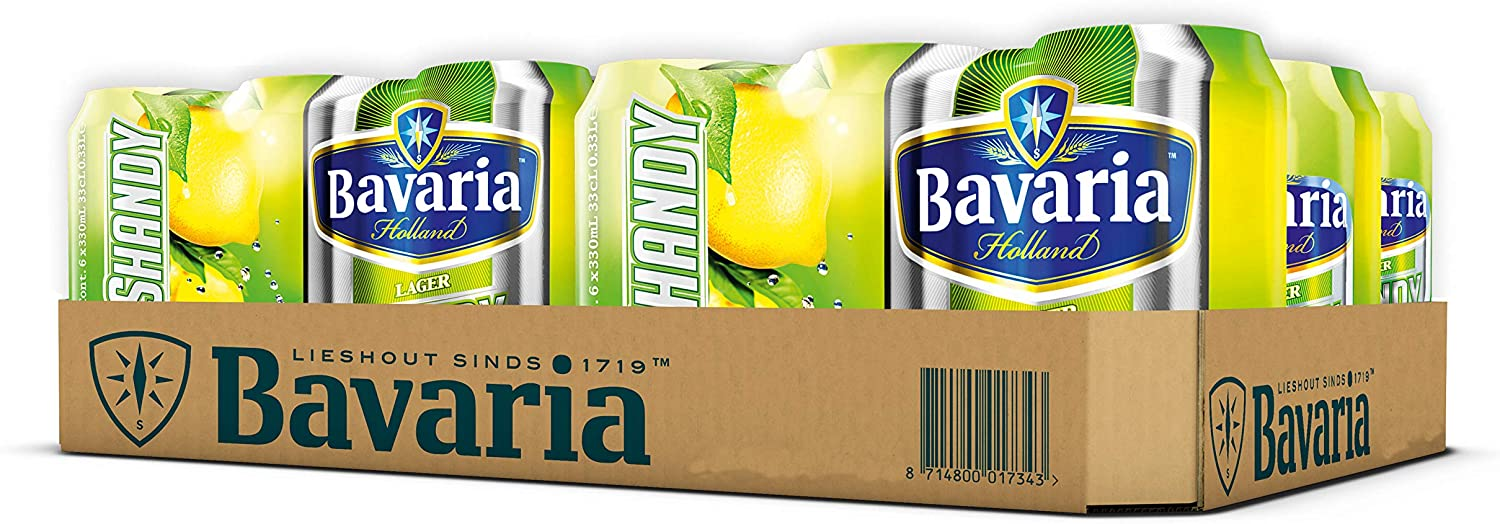 Bavaria Lager Shandy 6x330ml