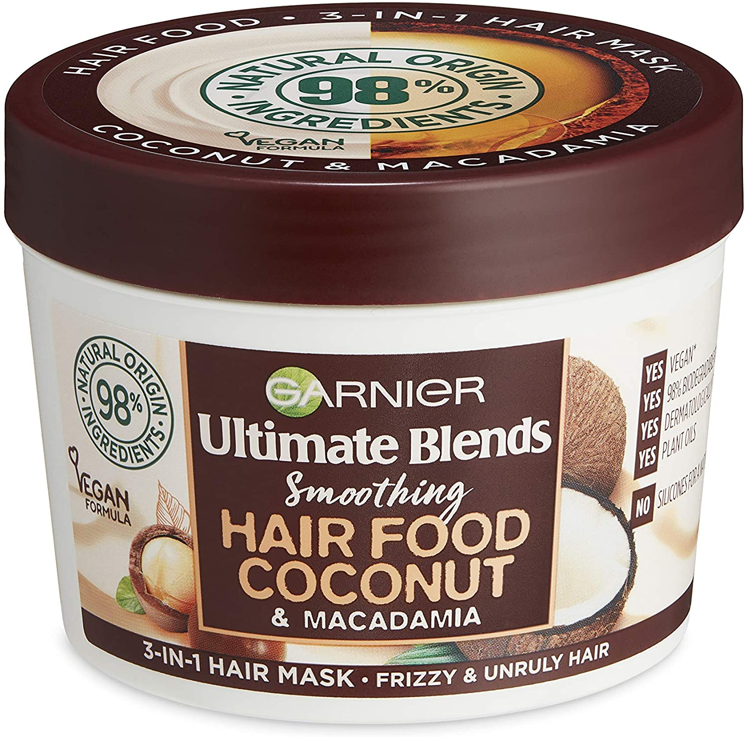 Garniercoconut hair food