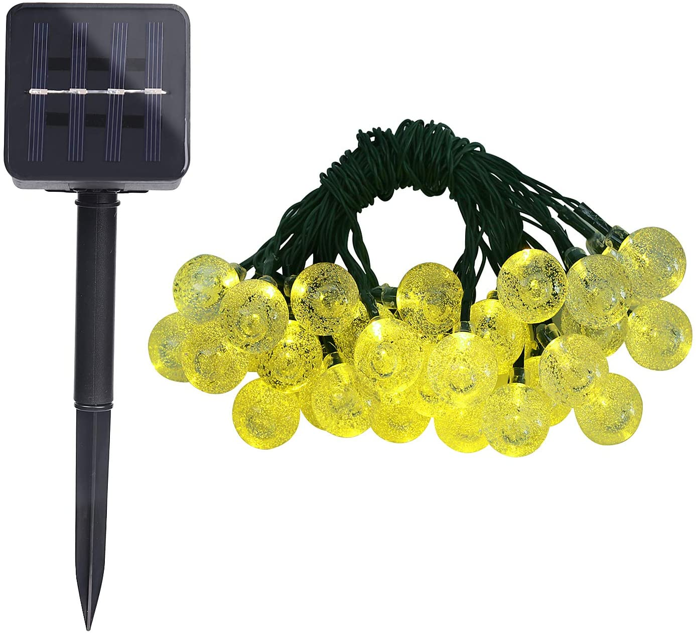 Solar String Lights Outdoor 30 LEDs