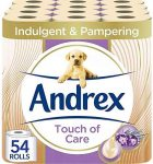 Andrex Toilet Roll Touch of Care 54 Rolls