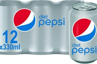 Diet Pepsi Cola, 12 x 330ml
