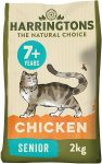 Harringtons Complete Senior Chicken Dry Cat food 2kg