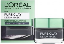Loreal pure clay face mask