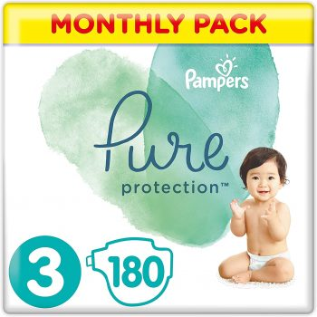 Pampers 3 pure protection nappies