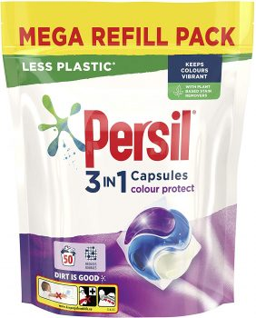 Persil 3 in 1 Colour Protect mega refill pack