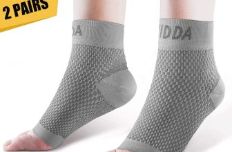 PAIRS Fasciitis Socks with Heels Arch Supports