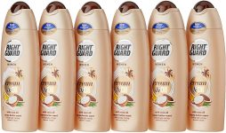 Right Guard Women Shower Gel Coco Oil with Cacao Butter Scent Body Wash Multipack x ml