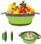 Collapsible Colander Basket of Set Large Small