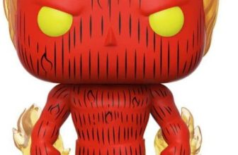 Fantastic Four Human Torch Collectible Toy Multicolour