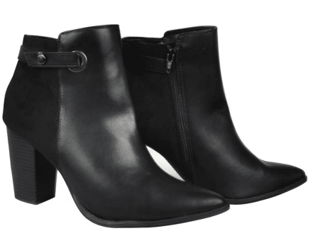 Womens Fashion High Heel Shoes Ankle Boots