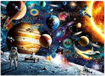 1000 Pieces Space Jigsaw Puzzles