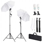 1124W 2× Photography Studio Lighting Soft Umbrella Kit