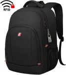 15.6 Inch Laptop Rucksack for Men and Women Anti Theft Water Resistant