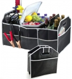 2 in 1 Heavy Duty Collapsible Car Boot Organiser Foldable