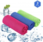 3 Pack Microfibre Sports Towel – Multipurpose