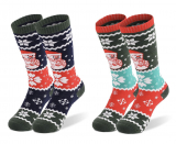 2 PAIR KIDS SKI SNOW SOCKS