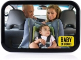 【Keep An Eye on Your Baby】Vislone Baby Car Mirror for Rear Facing Car Seats