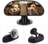 【Keep An Eye on Your Baby】Vislone Baby Car Mirror Suction Cup