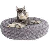 DELUXE PLUSH DOG/CAT BED