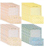 48 PIECE WRITING STATIONARY PAPER