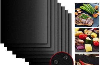 8 Pieces BBQ Grill Mats