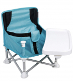 TRAVEL BOOSTER SEAT WITH REMOVABLE TRAY