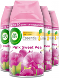 Air Wick Air Freshener Freshmatic PINK SWEET PEA  Pack of 4