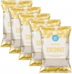 Amazon Brand – Happy Belly Desiccated Coconut 200gr x 5