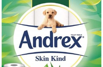 Cheap Andrex Toilet Roll Skin Kind with Aloe Vera 54 Rolls
