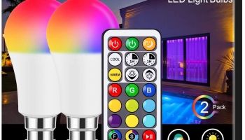 B22 LED Colour Changing Light Bulb