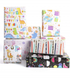 8 SHEETS WRAPPING PAPER X 2