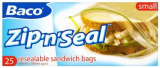 Baco Small Seal Food 25 Bags