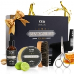 Y.F.M. Beard Grooming Kit Gift Set, Mustache Grooming Gift Beard Care Set