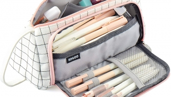 Big Capacity Pencil Pen Case Bag Pouch Holder