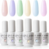 Gellen Candy Colour Gel Polish Kit 6 Colours